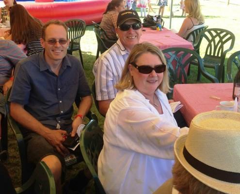 Faye, Mike and Matt