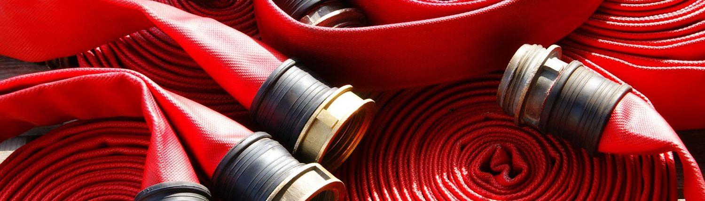 Fire hose.